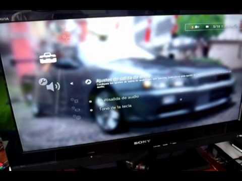 Conexión de audio Entrada óptica 5.1 y HDMI 5.1 para PS 2. PS 3 (PARTE 1)