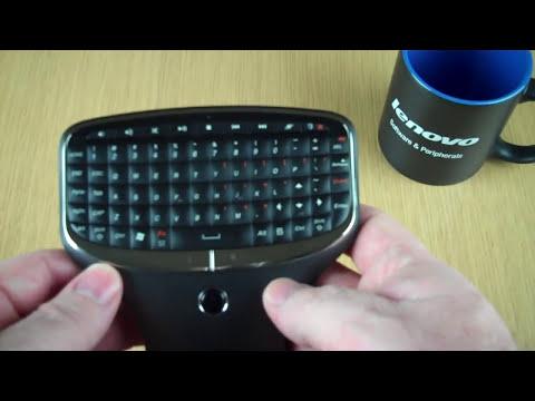 Hands On: Lenovo Multimedia Remote w/Keyboard (N5902)