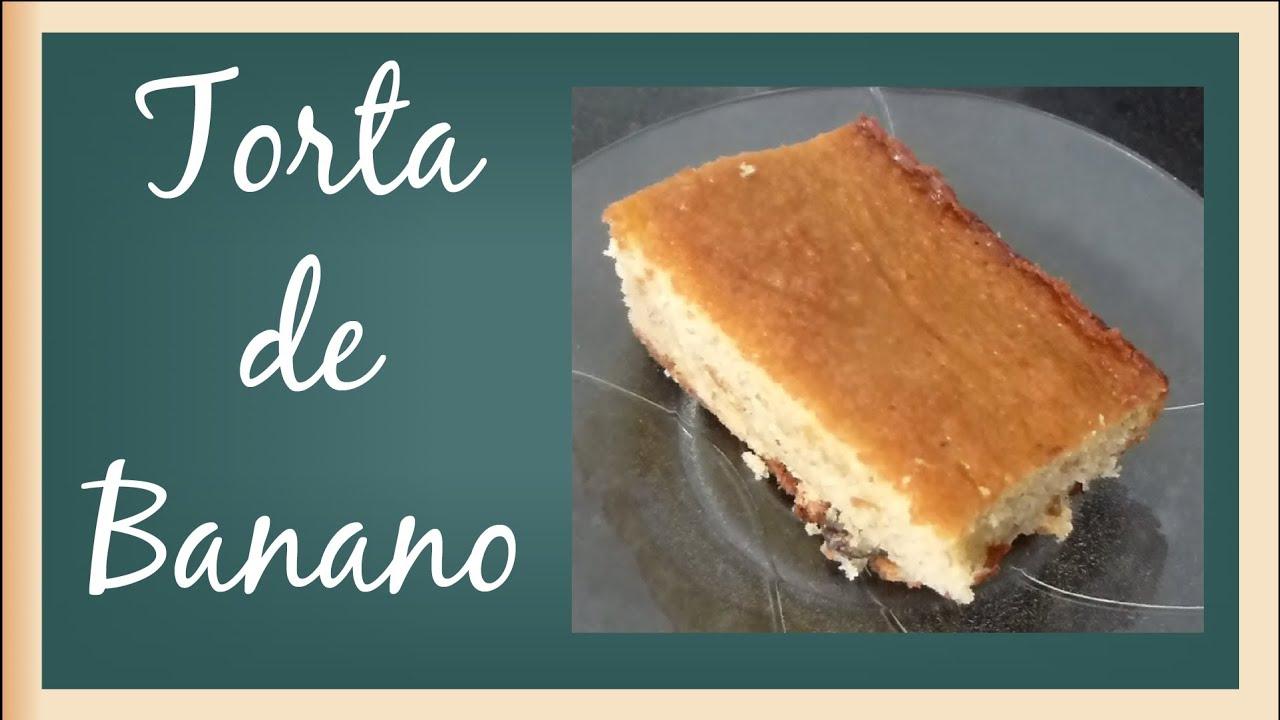 Image Result For Receta De Torta Economica De Banana