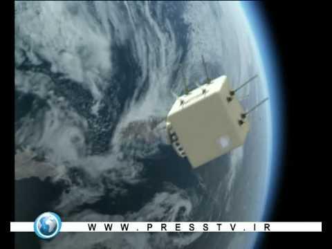 The first iran sattelite omid was sent to the orbit - Presstv