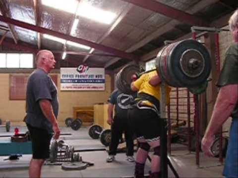 660lb Squats and deadlifts- powerlifting training Image 1