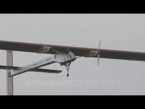 SOLAR IMPULSE first flight in the US at NASA