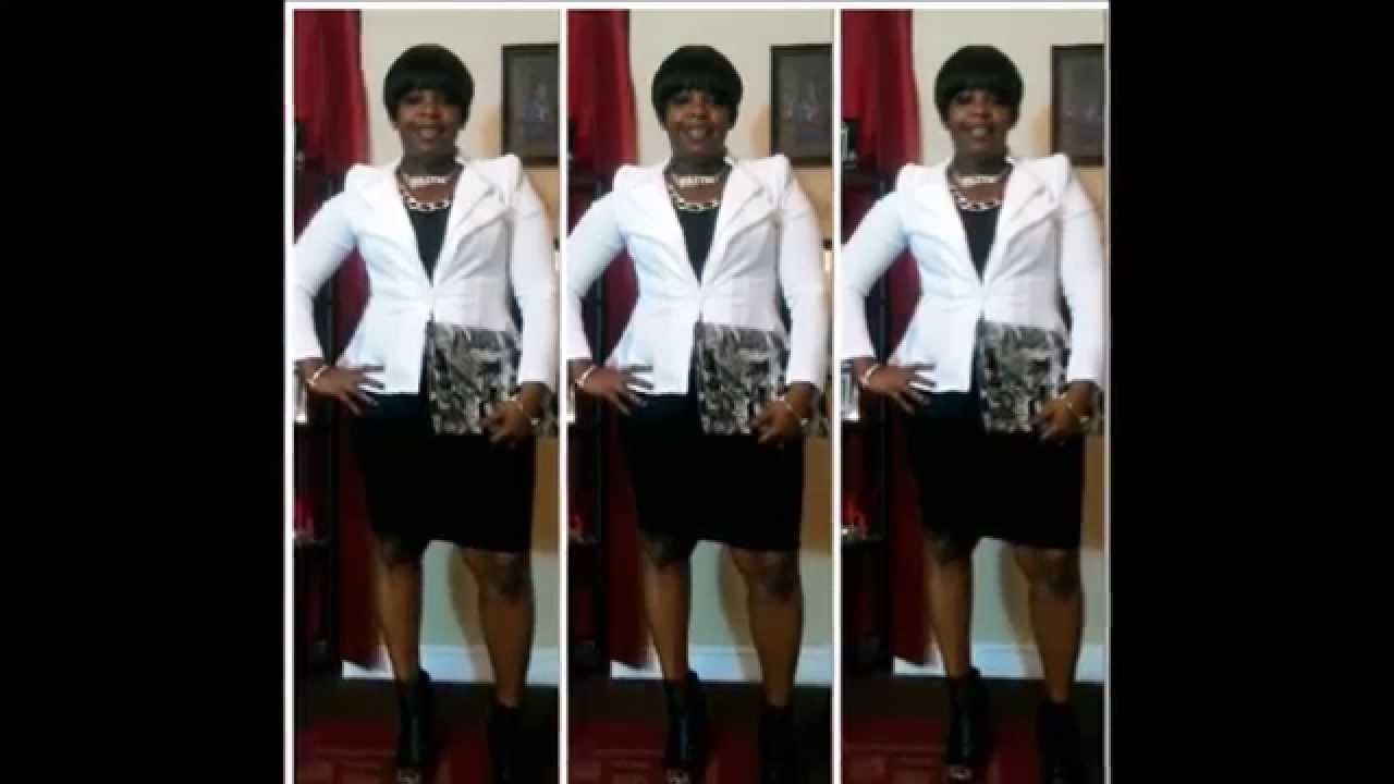 Church Flow White Blazer Amp Black Dress Youtube