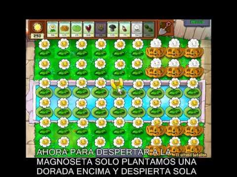 Plantas vs Zombies-Truco mucho dinero