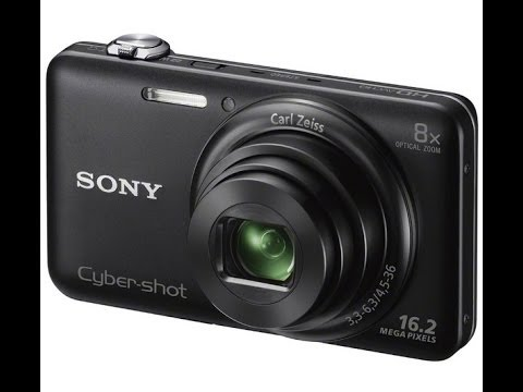 Sony DSC-WX80 Cyber-shot camera Unboxing