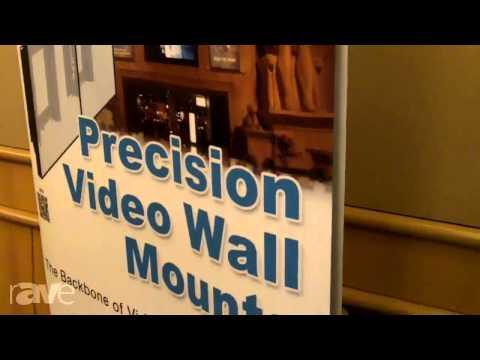 E4 AV Tour: Premier Showcases Rolling Video Wall Cart, Precision Video Wall Mount, AM100, FTP Mounts