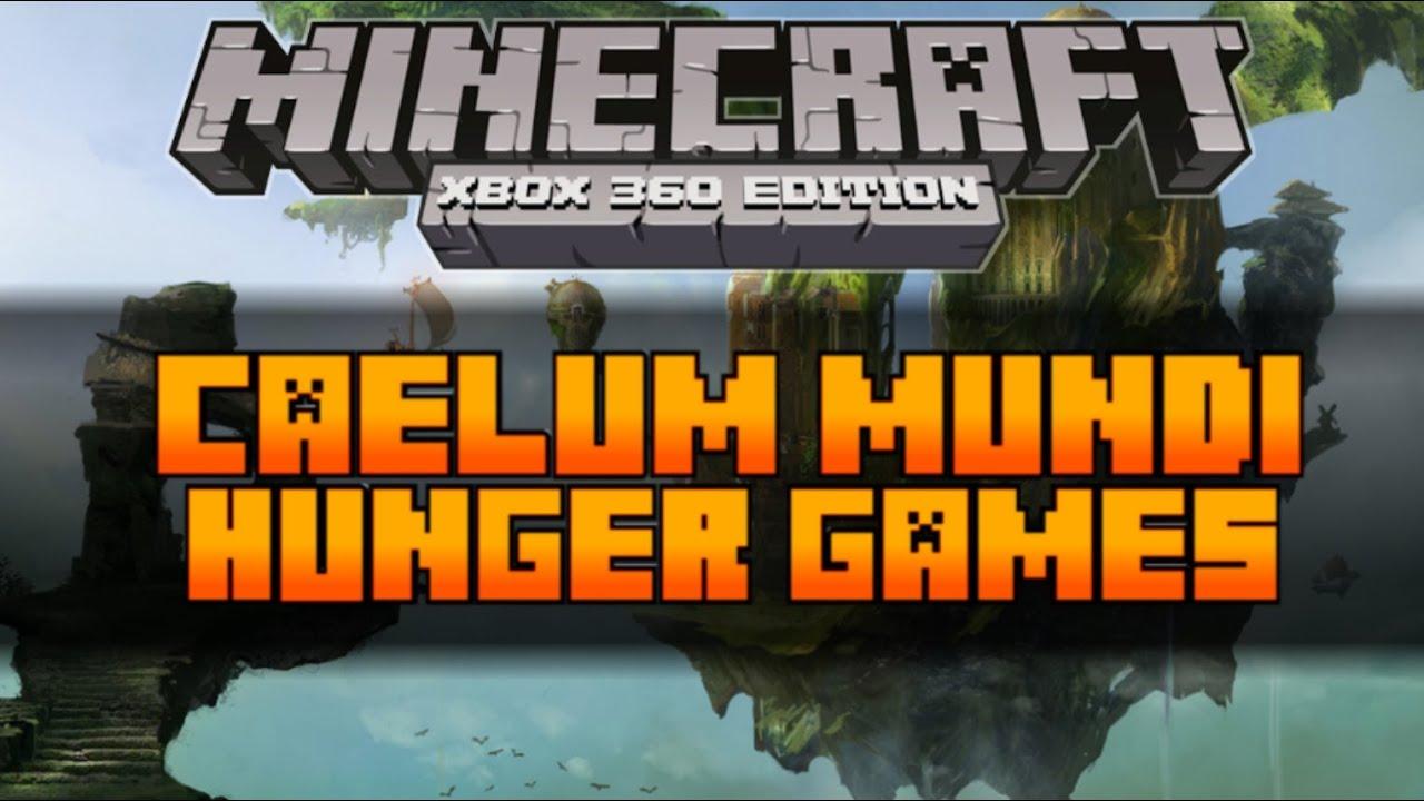Xbox 360 Hunger Games : Minecraft xbox the hunger games map caelum mundi