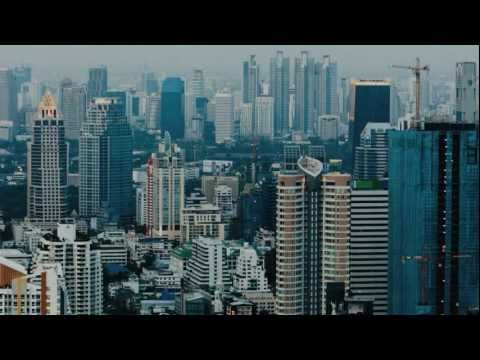 New Skyline Bangkok and New high-rise buildings [HD]