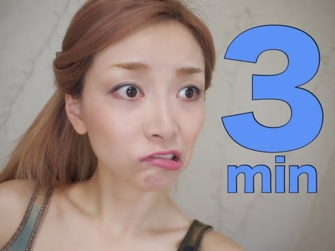 TAG! 3 Minute Full Face Makeup Challenge!!