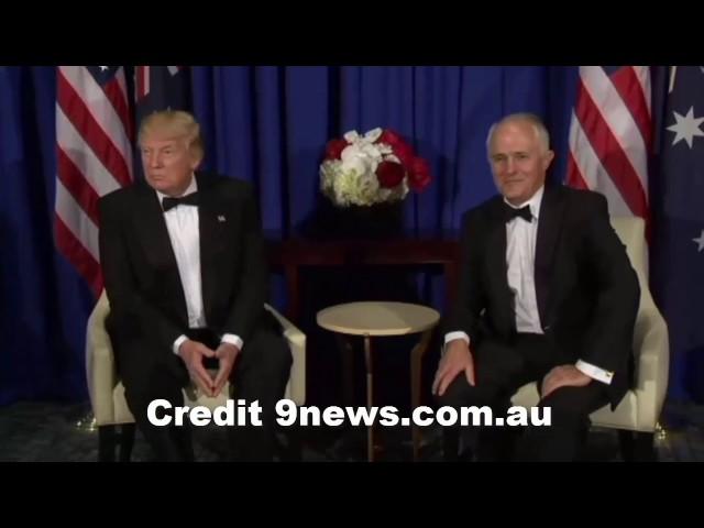 Malcolm Turnbull mocks Trump