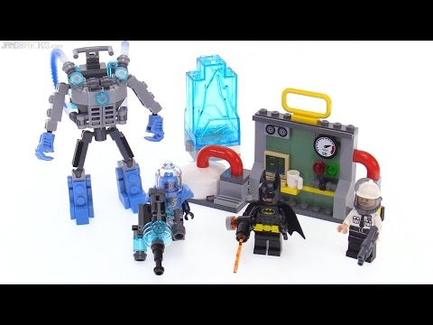 LEGO Batman Movie Mr. Freeze Ice Attack review! 70901