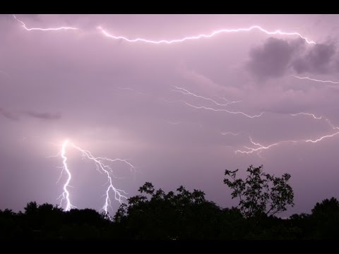 10 Hours Of Thunderstorm And Rain Sounds In A Lightning Storm  [ Sleep Music ] video