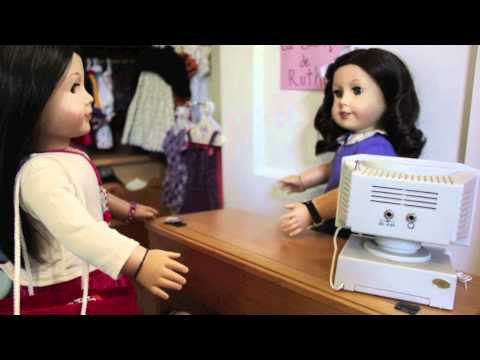 Shopping Trip: An American Girl Stopmotion {AGSM}