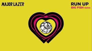 Major Lazer - Run Up (feat. PARTYNEXTDOOR & Nicki Minaj) (Big Fish Remix) (Official Audio)