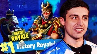SHROUD DESTROYING IN FORTNITE (FULL GAME)