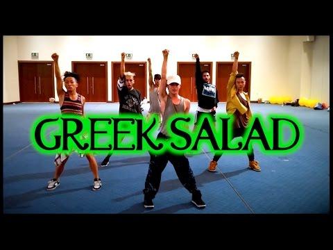 Dangerous, BOSS, Les Sex & Can't Nobody Choreography at Greek Salad Dance Camp