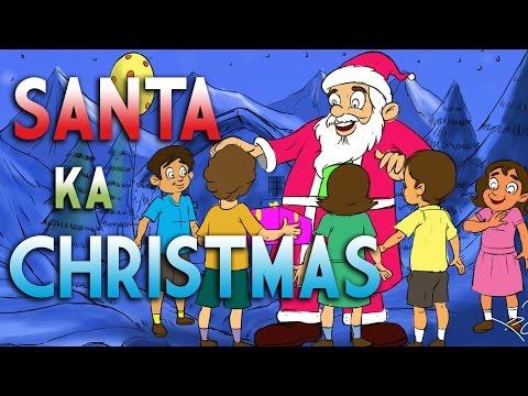 Santa Ka Christmas   Kilkariyan   Hindi Stories For Kids   Bedtime Children Stories   Kids Stories video