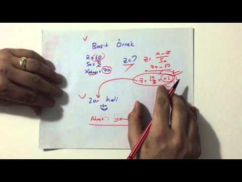 KPSS Ölçme ve Değerlendirme,  7 Dakikada Zve T Puanı :) İzleyin bu iş bitsin :)