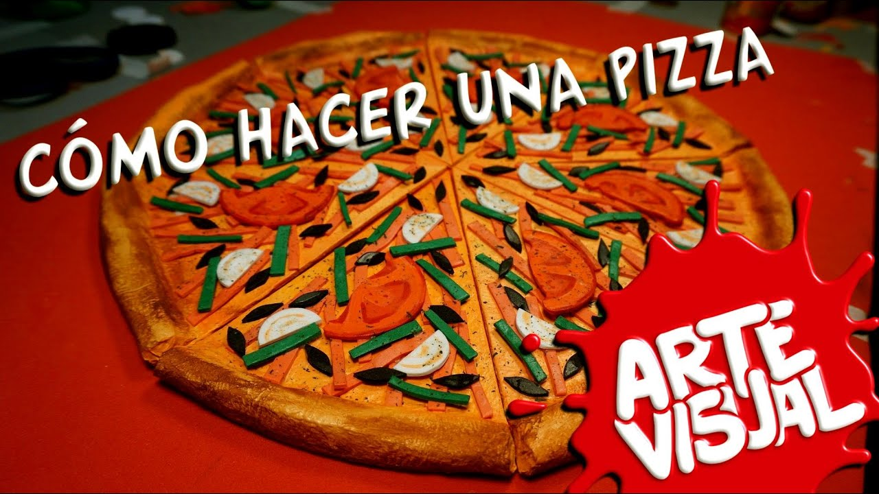 Arte visual c mo hacer una pizza youtube for Como instalar una pizzeria