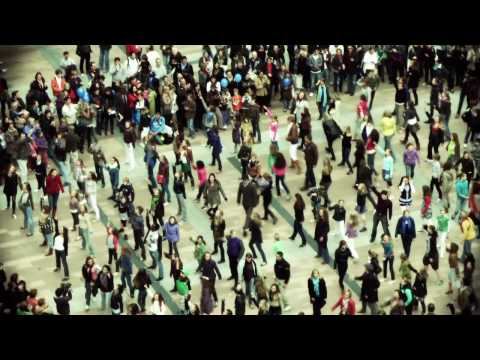 Amazing flash mob Brussels European Parliament 8 May 2010 - TIPIK production