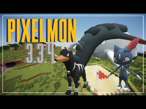 PIXELMON 3.3.4   LA SUPER VERSIÓN CON MUCHOS POKEMON   MINECRAFT 1.7.10
