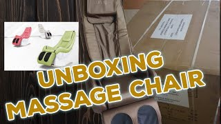 unboxing JMG Rocking Electric Massage Chair