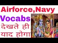 Airforce,Navy  Previous Year Vocabs with tricks thumbnail