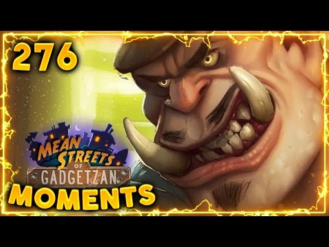 Don Han'Cho Leeroy Combo!! | Hearthstone Gadgetzan Daily Moments Ep. 276 (Funny and Lucky Moments)