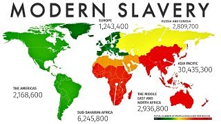 10 Countries Most Afflicted By Modern Slavery