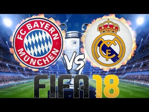 FIFA 18: FC Bayern München vs Real Madrid thumbnail