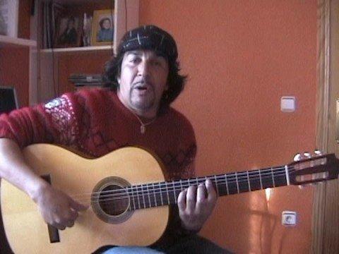 Flamenco guitarist Ramon Jimenez plays a Hans Pukke Guitar. - www.hanspukkeguitars.com