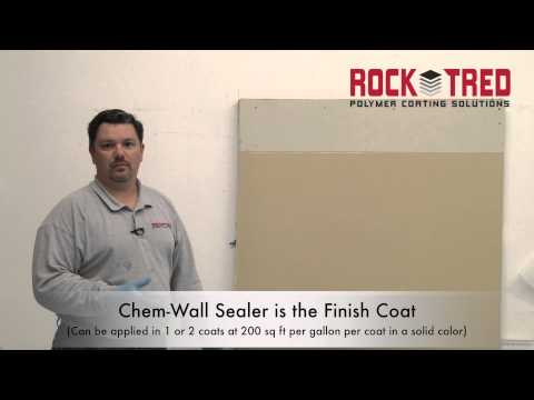 Rock Tred Chem-Wall Mat Lay-Up System