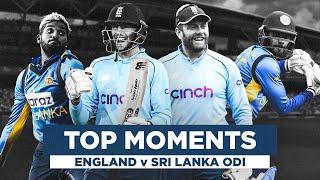 Dead-Eye Billings and Crazy Running! | England v Sri Lanka Top Moments | Royal London ODIs 2021