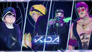 K/DA - POP/STARS male cover by Charming_Jo