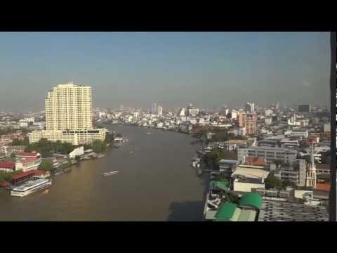 Bangkok and Chao Phraya river – HD