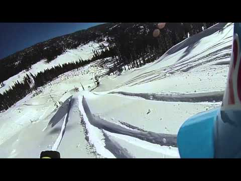 John Jackson Second Run at Red Bull Supernatural - Full Contour+ POV Top to Bottom Snowboarding