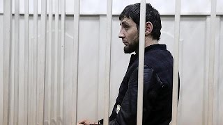 video Five men have appeared before a Moscow court in connection with the murder of Russian opposition activist Boris Nemtsov. The men were taken into court handcuffed and flanked by guards and...