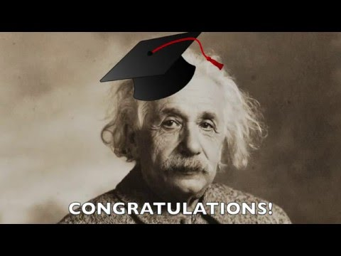 Einstein on the Value of a College Education