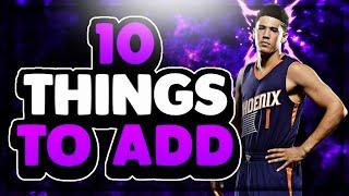 TOP 10 NBA LIVE MOBILE NEEDS TO ADD | MY WISHLIST