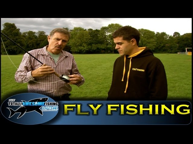 How to fly fish for Trout - Totally Awesome Fishing