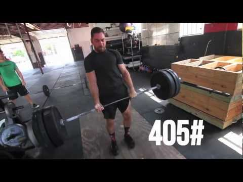 CrossFit - WOD 121004 Demo with Travis Holley