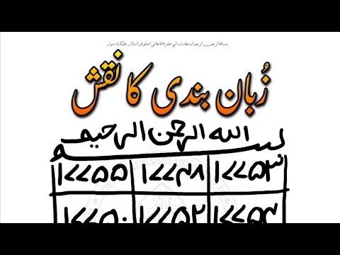Zuban Bandi Ka Naqah