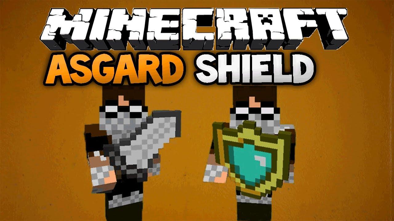 Minecraft Asgard Shield Mod
