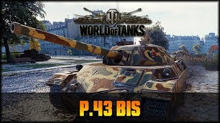 World of Tanks - Live: P43 Bis - Tier 6 [ deutsch