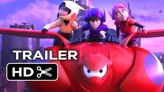 Ver   Big Hero 6 Official NYCC Trailer (2014) – Disney Animation Movie HD