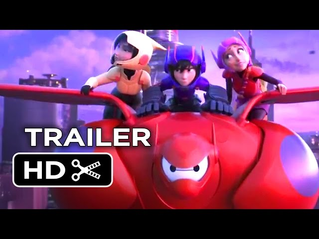 Big Hero 6 Official NYCC Trailer (2014) - Disney Animation Movie HD