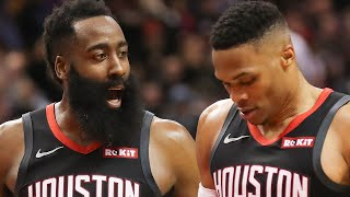 James Harden And Russell Westbrook Appear To Have Some Serious Trust Issues