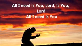 Watch Jesus Culture All I Need Is You video