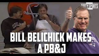 Bill Belichick's PB&J Sandwich