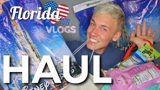 Florida Haul 2019 | Disney World, Outlet Mall, Universal, SNACKS!